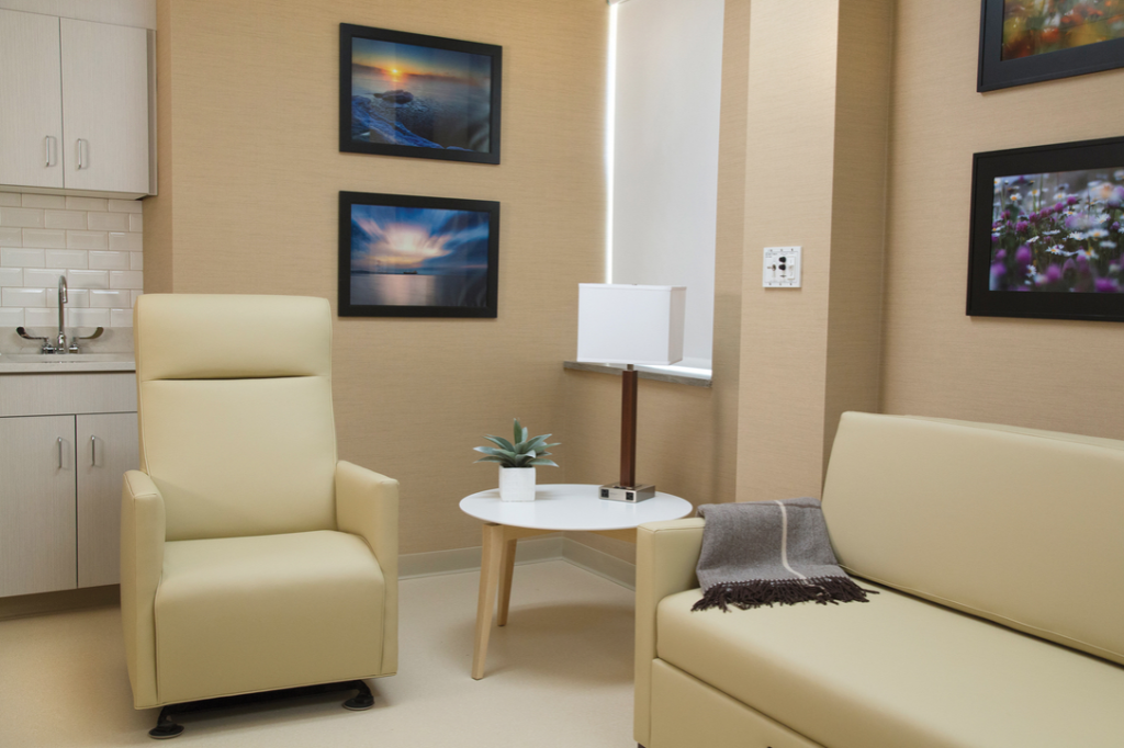 birthing suite at St. Luke's